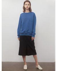 among - A Wool Tuck Sk Black - Lyst