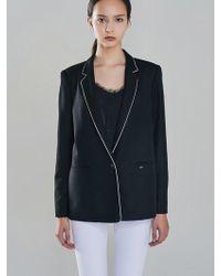 Blanc & Eclare - Monroe Jacket_fw1749bl - Lyst