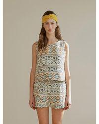 among - A Jacquard Shorts - Lyst