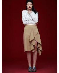 Grace Raiment - Unbalance Flared Skirt - Lyst