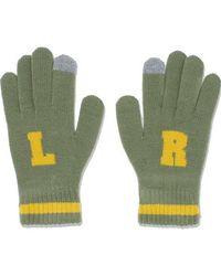 W Concept - [unisex]comic Gloves Khaki - Lyst