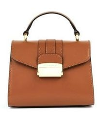 Biker Starlet - Doctors Bag Mini Stripe All Ginger Brown - Lyst