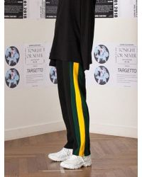 TARGETTO - Line Training Trousers Green-mustard - Lyst