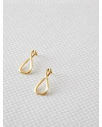 W Concept - Eternal Triangle Earring [small] - Lyst