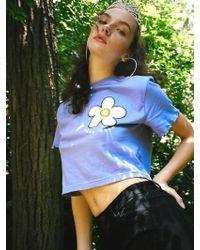 NANA CREW - Daisy Petals T Shirt Light Violet - Lyst