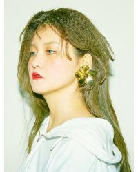 Baby Centaur - Wind Flower Earring [silver, Gold] - Lyst