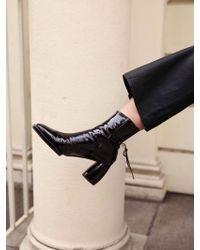 Reike Nen - Rj4 Sh039 Square Ribbon Half Boots - Lyst