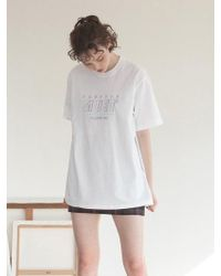 TARGETTO - Neon Muet T-shirt White - Lyst