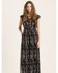 W Concept - [wxo] Printed Silk Jumpsuit - Lyst