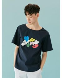 BONNIE&BLANCHE - [unisex] Young Cotton Top (navy) - Lyst