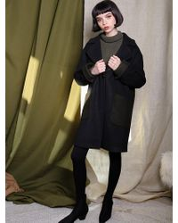 Petite Studio Nora Coat - Olive - Green