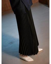 COLLABOTORY - Bacma7004m Belted Maxy Pleats Skirts Black - Lyst