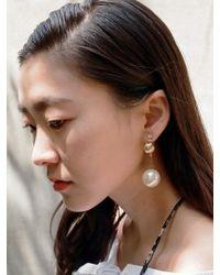 VON DITOLE - Pearl Drop Earring - Lyst
