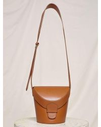 Low Classic - 17fw Classic Leather Cross Bag - Brown - Lyst