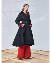 Fleamadonna - Wax Coated Flared Coat - Lyst