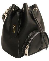 Maison de H - Bucket M Black Shoulder Bag - Lyst