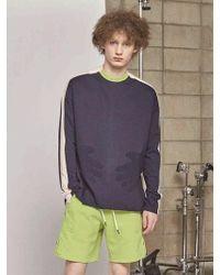 DBSW - Hands On Tummy Light Sweatshirts Navy - Lyst