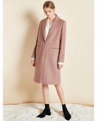 Clue de Clare - Basic Single Coat Pink - Lyst