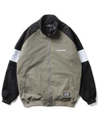 SAINTPAIN - [unisex]sp Logo Raglan Track Jacket Khaki - Lyst