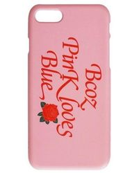 bpb - Rose Iphone Case - Pink - Lyst