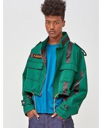 DOZOH - [unisex] Off Patched Jacket - Lyst