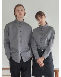 TARGETTO - [unisex] Tgt Pocket Shirt Grey - Lyst