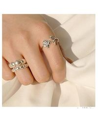 FLOWOOM - Rose Ring - Lyst