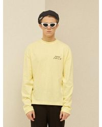 13Month - [unisex] Serious Child Long T-shirt Yellow - Lyst