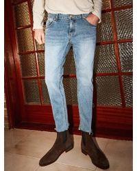 YAN13 - Special Cutting Jean - Denim - Lyst