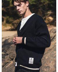 F.ILLUMINATE - [unisex] One Stripe Cardigan-black - Lyst