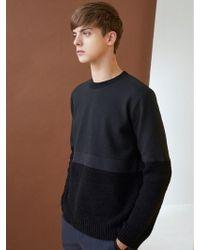 MILLOGREM - Alfin Knit Sweatshirts - Black - Lyst