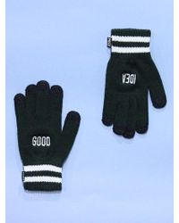 W Concept - Good Idea Smart Gloves Qs Deep Green - Lyst
