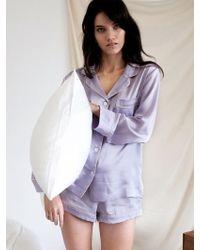W Concept - Pastel Short Pj Pants - Fantasy Violet - Lyst