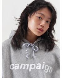 SLEAZY CORNER - Campaign Hoodie Gray - Lyst
