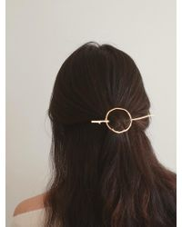 W Concept - Wood Texture Hairpiece-s - Lyst
