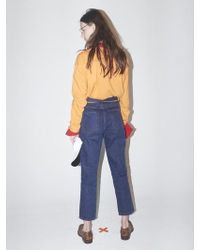 Bouton - Tin Denim Pants-violet - Lyst