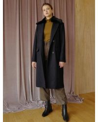 among - A Fur Double Ct - Lyst