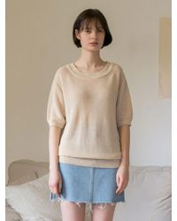 among - A Loose Knitwear - Lyst