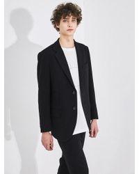 COLLABOTORY - Eaama5001m Slim Fit Single Jacket - Lyst