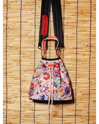 W Concept - Beige Bouquet Jori - Lyst