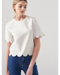 Blanc & Eclare - Demeter Blouse Ss3521wh - Lyst