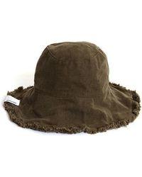 SLEEPYSLIP - [unisex] Reversible Khaki Bucket Hat - Lyst