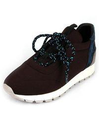 SHOBONYATA - Laminate Springy Smart Sneakers_s3034bl - Lyst