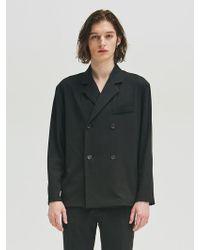 Add - Double Jacket Shirt Black - Lyst