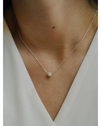 W Concept - Baby Goldenball Necklace - Lyst
