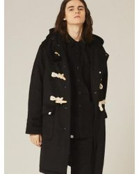 W Concept | [unisex] Heavy Rope Point Duffel Coat Ol088 | Lyst