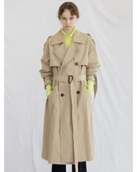 W Concept - 17 Fall Oversized Trench Coat - Lyst