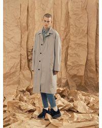 A.GLOWW - Single Overfit Coat Grey - Lyst