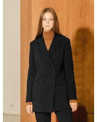 COLLABOTORY - B7cma5001m Double Button Tailored Jacket Black - Lyst