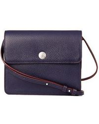 WEMADESOMETHINGGOOD - [unisex]spring Button Clutch Navy - Lyst